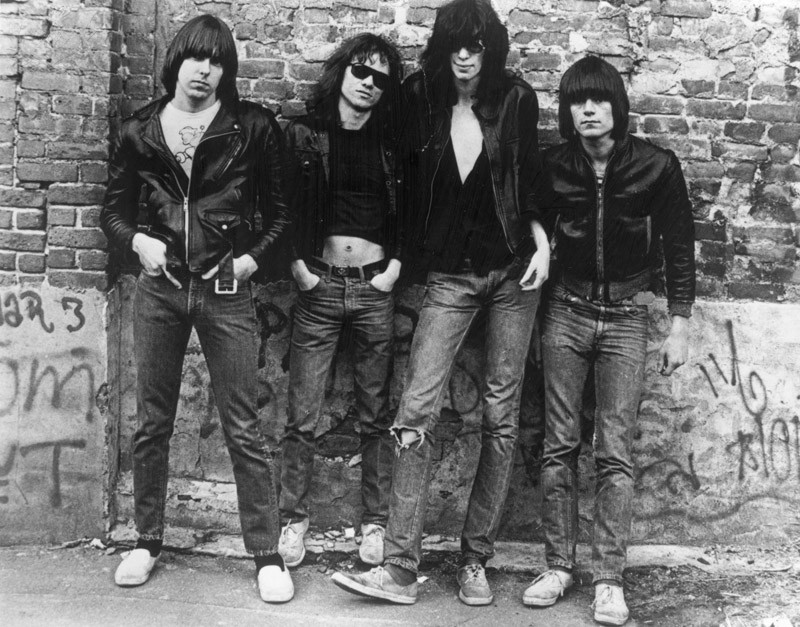 The Ramones: Photo by Roberta Bayley/Evening Standard/Hulton Archive/Getty Images) / Evening Standard / Hulton Archive / Getty Images / Universal Images Group / Rights Managed / For Education Use Only